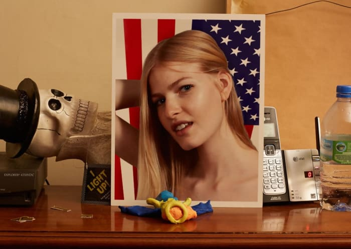 Louise with Still Life by Roe Ethridge