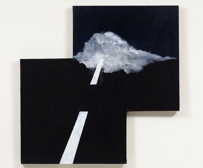 Tule Fog by Mary Heilmann
