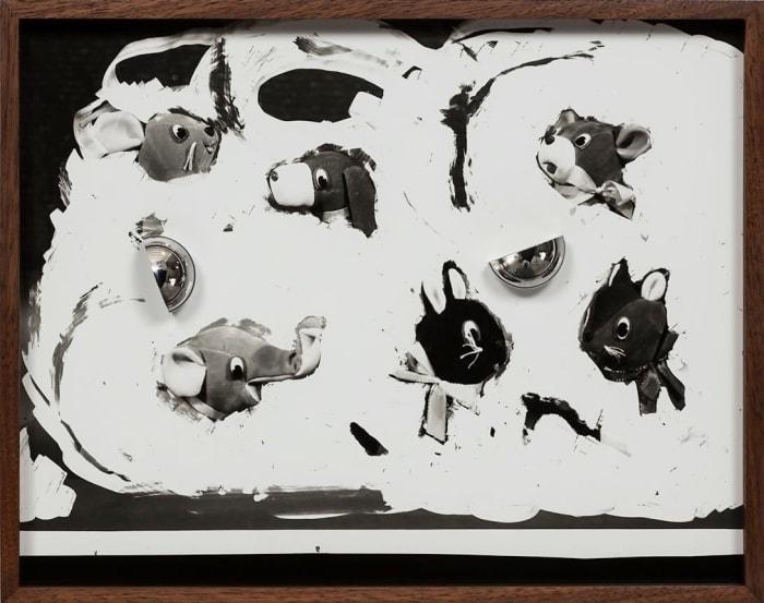 Untitled (Velveteen Animals) by Elad Lassry