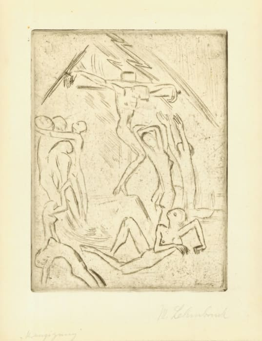 Kreuzigung by Wilhelm Lehmbruck