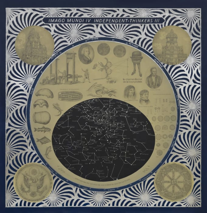 Imago Mundi IV. Independent thinkers III by Adriana Bustos