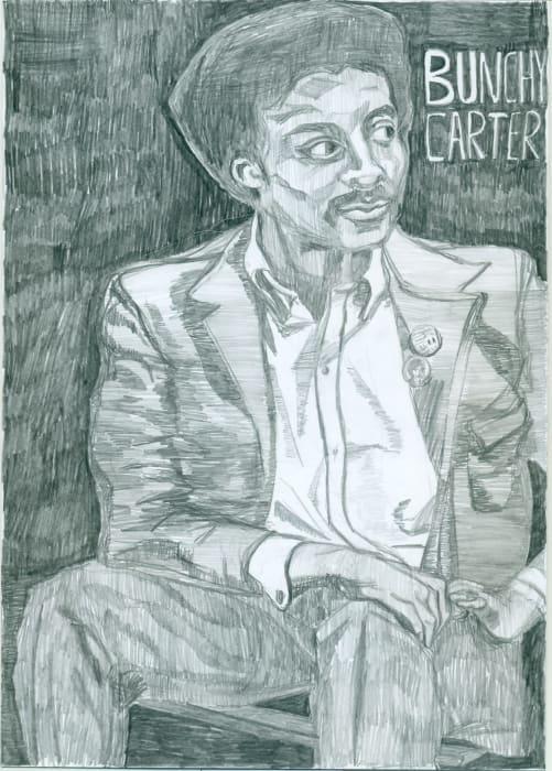 Bunchy Carter by Magdalena Jitrik