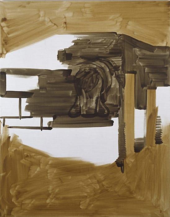 Untitled by Michael Krebber