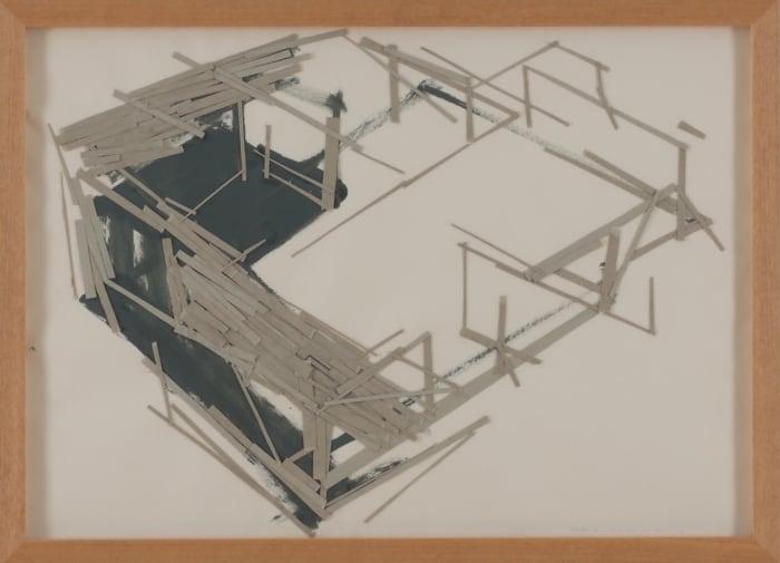 Site Plan No.7 by Tadashi Kawamata