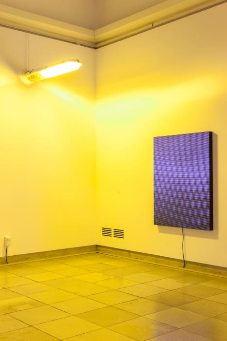 Installation view, Mark Leckey: As If, Haus der Kunst, Munich, January 30, 2015 – May 31, 2015 by Mark Leckey