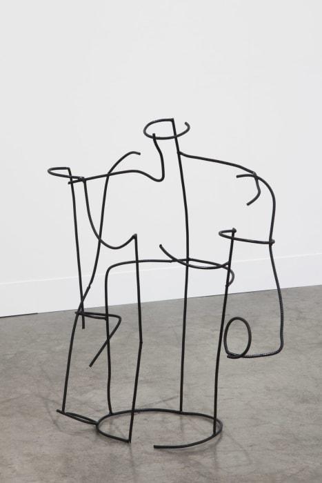 Rationalized man by Neïl Beloufa