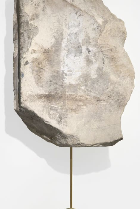 Clock rock by Klaus Weber