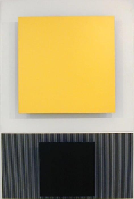 Gran amarillo by Jesús Rafael Soto