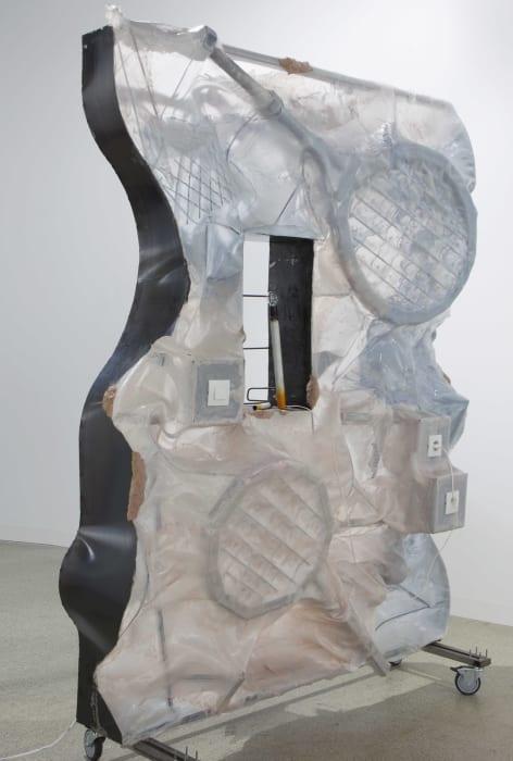 Scaffolder series by Neïl Beloufa