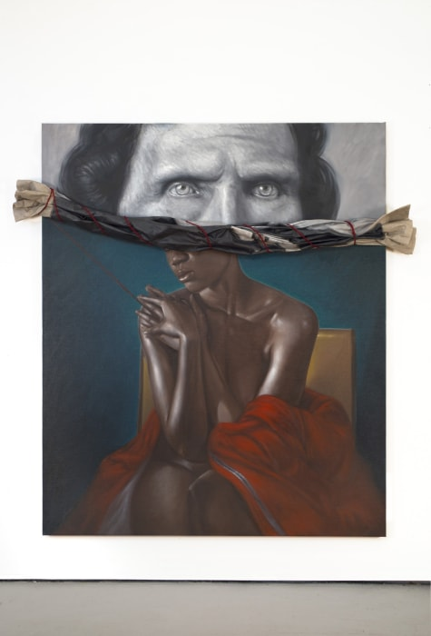 Drawing the Blinds by Titus Kaphar