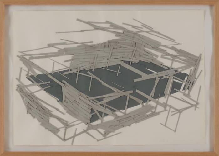 Site Plan No.1 by Tadashi Kawamata