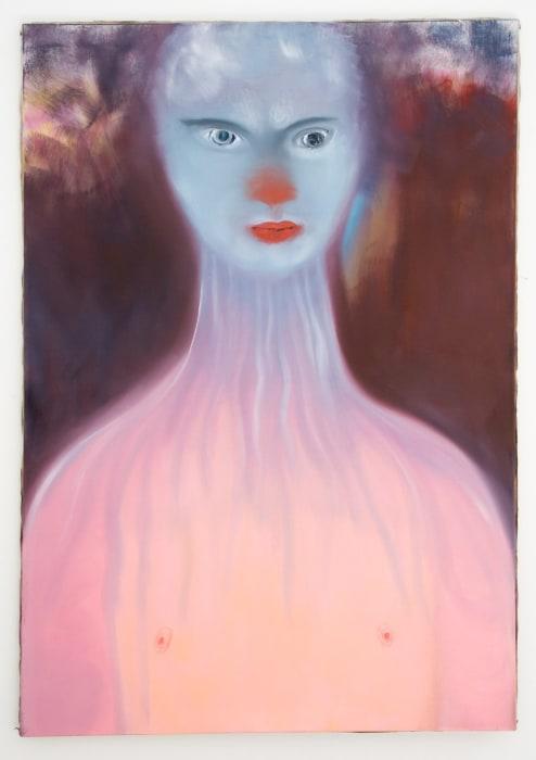 tiermensch/kind by Miriam Cahn