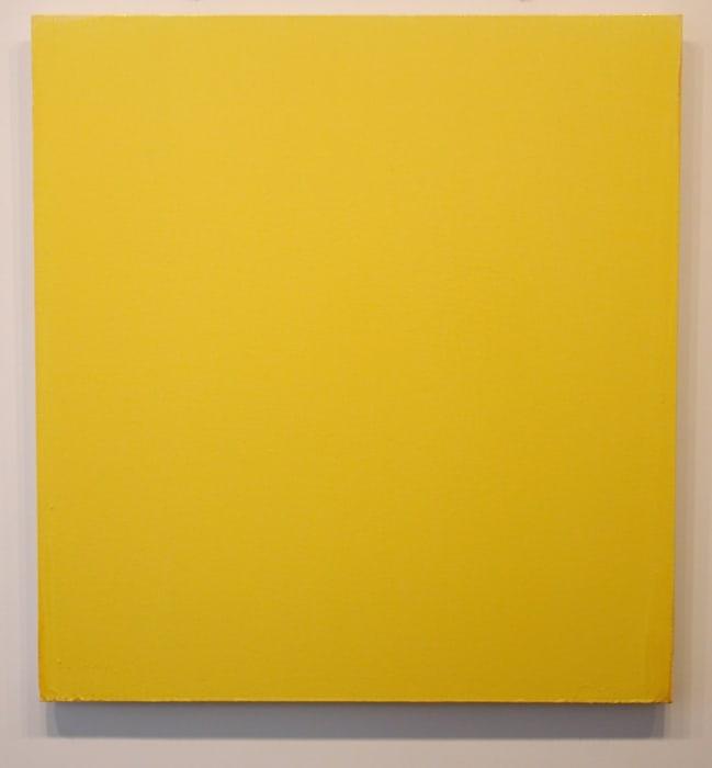 Yellow Painting by Joseph Marioni