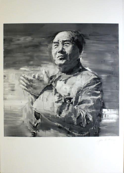 Icônes by Yan Pei-Ming