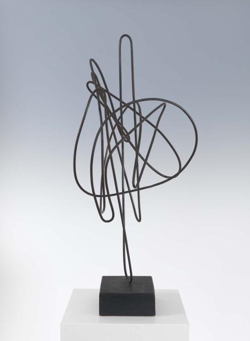 Draht-Plastik (wire sculpture) by Hans Uhlmann