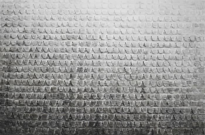 Cave of Ten Thousand Buddhas No. 4 by Shi Zhiying