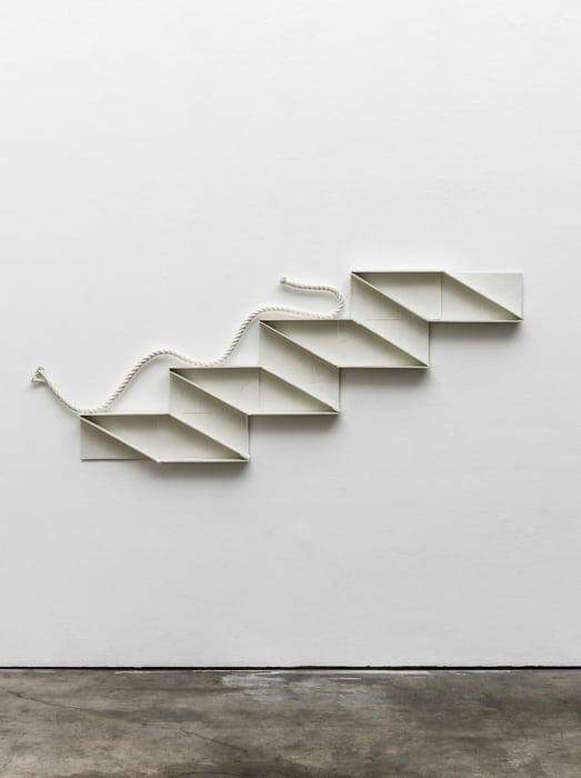 Stair Profile with Rope by Ricky Swallow