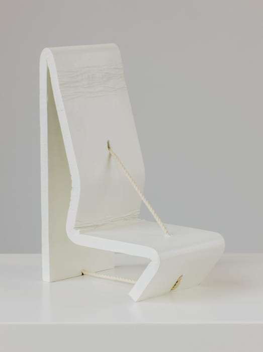 Chair Form with String by Ricky Swallow