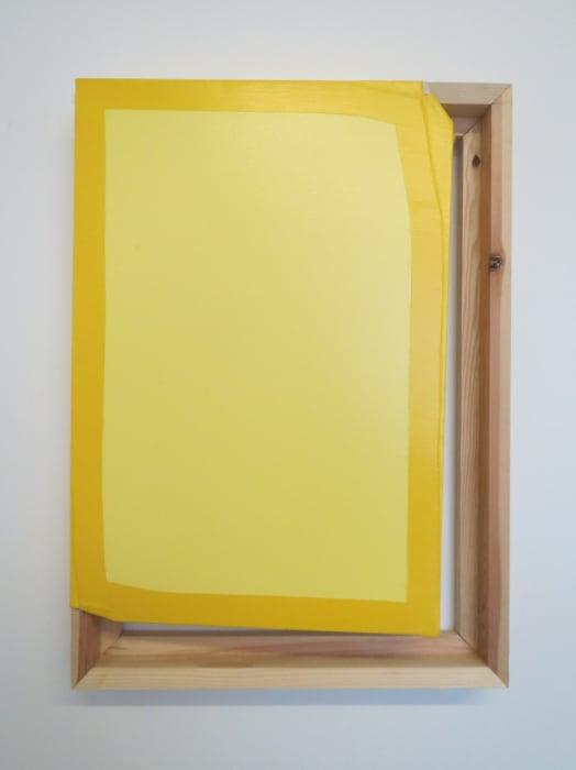 Tight (Light Yellow / Yellow) by Angela de la Cruz