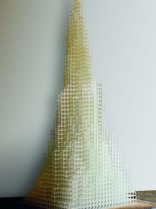 Irregular Tower by Sol LeWitt