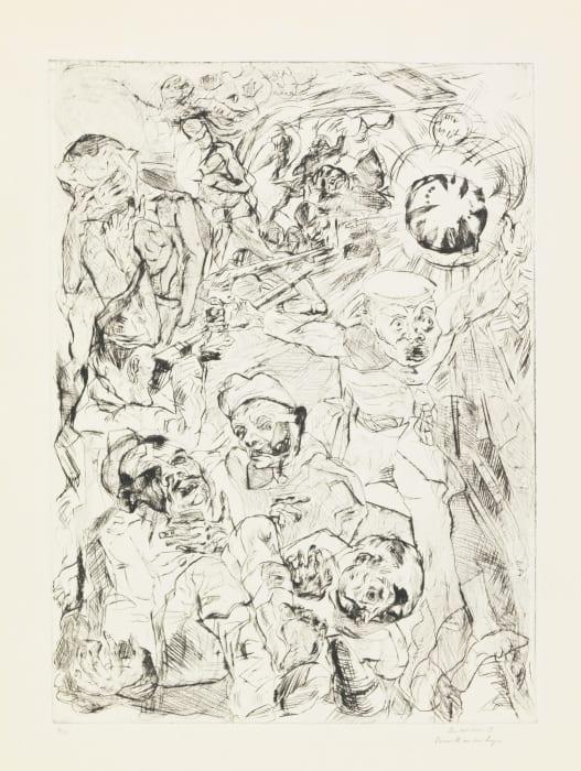 Die Granate by Max Beckmann
