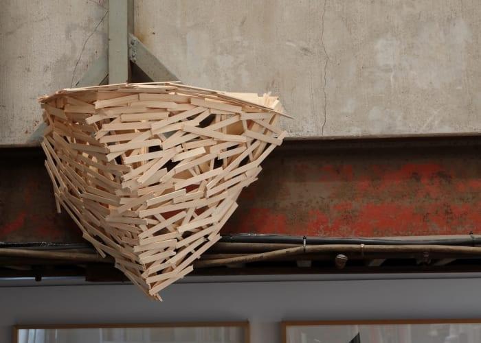 Nest J-4 by Tadashi Kawamata