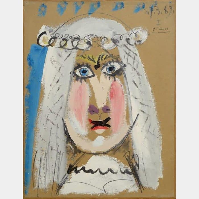 La marié by Pablo Picasso