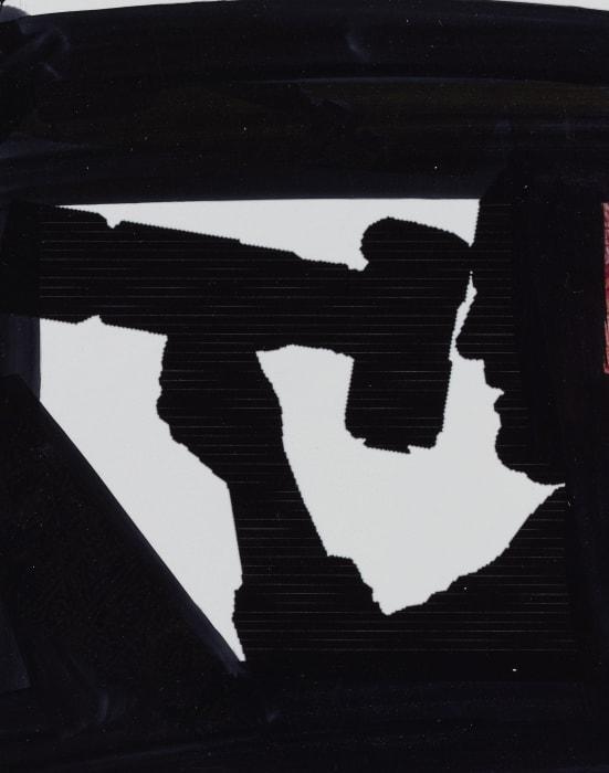 Silhouette Study: Camera by Seth Price