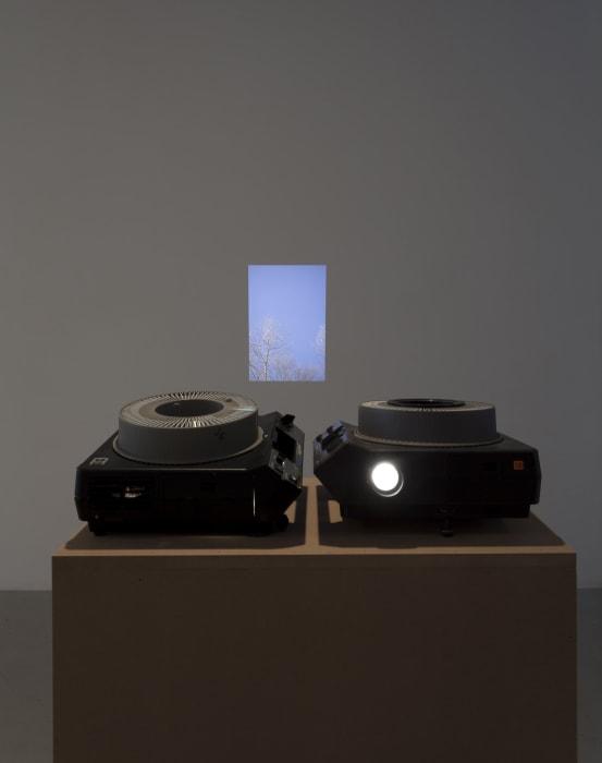 Two Projectors by Sam Ekwurtzel