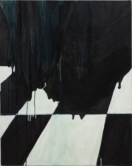 It's Raining Today by Mary Heilmann