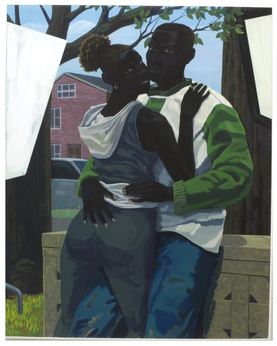 Untitled (Lovers) by Kerry James Marshall