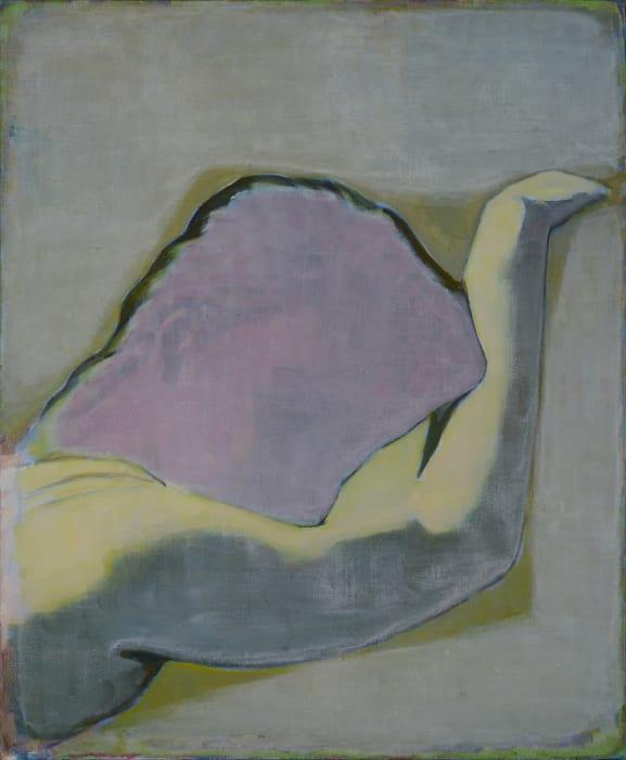 Sleeping Girl with Purple Head by Tang Yongxiang