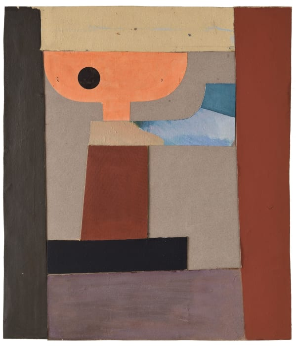 Collage by Jean Arp