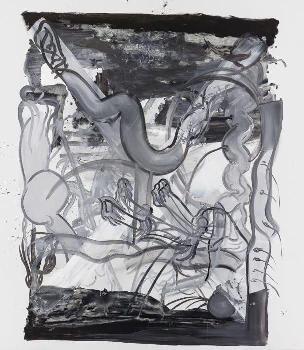 Untitled (D.) by Tobias Pils