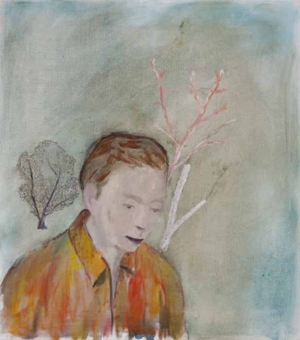 The Boy with Corals by Enrique Martinez Celaya