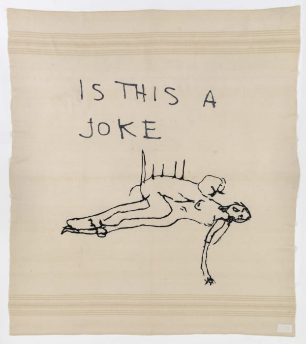 Is This a Joke by Tracey Emin