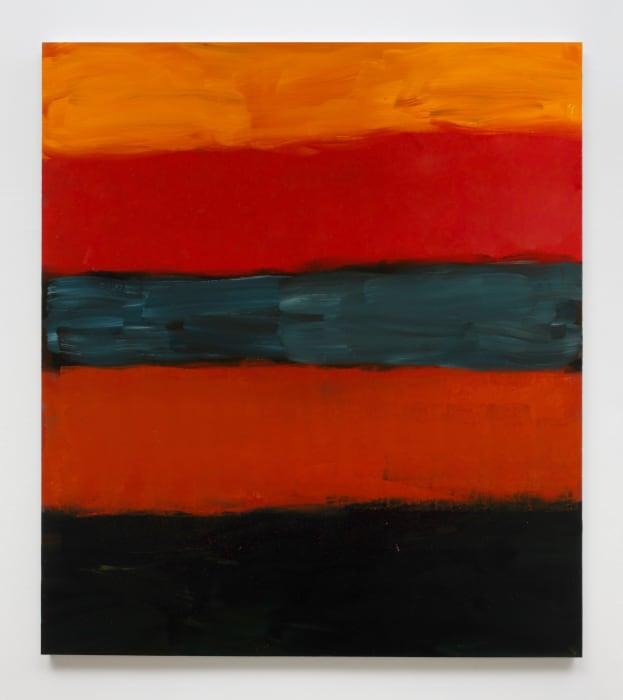 Landline Red Red by Sean Scully
