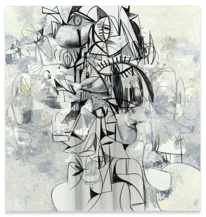 Opening Outward by George Condo