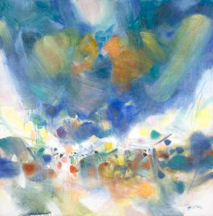 Le Voile des Illusions by Chu Teh-Chun