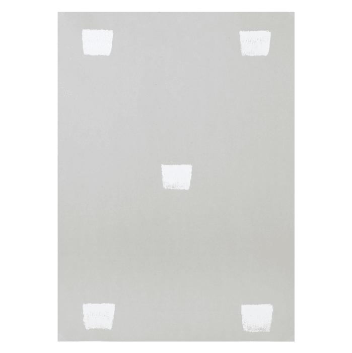 Senza titolo (Impronte di pennello n.50...) by Niele Toroni