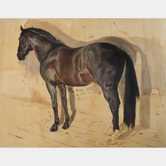 The Horse by Michaël Borremans