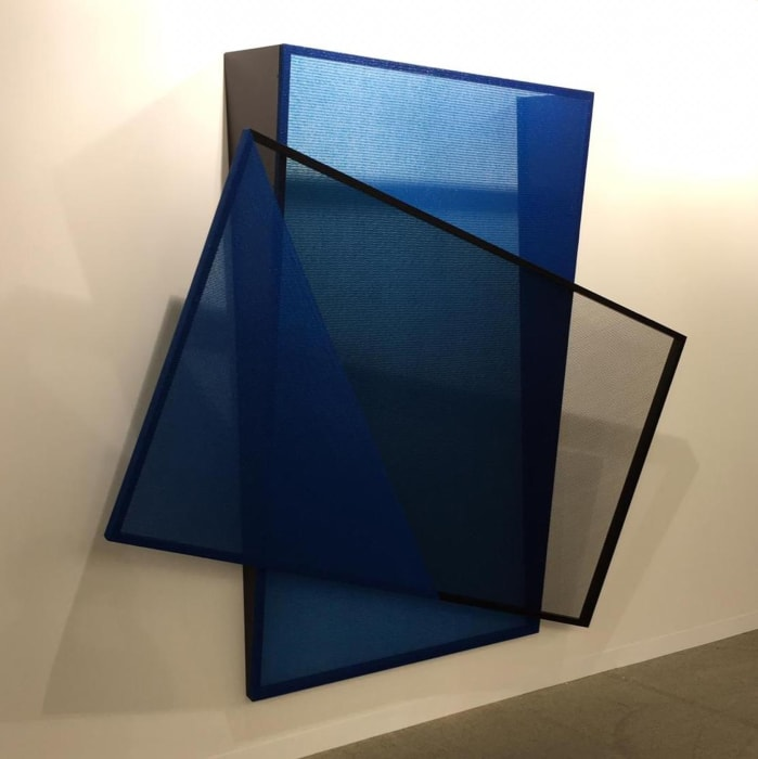 Shade Shift (black/blue) by Kapwani Kiwanga