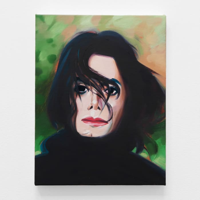 Michael Jackson by Sam McKinniss