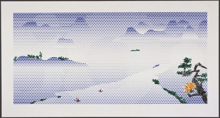 Landscape with Boats by Roy Lichtenstein