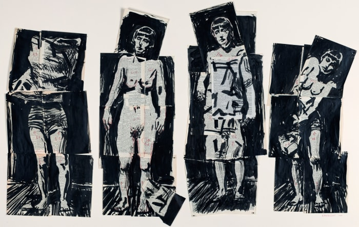 Untitled II (Drawing from Lulu) by William Kentridge
