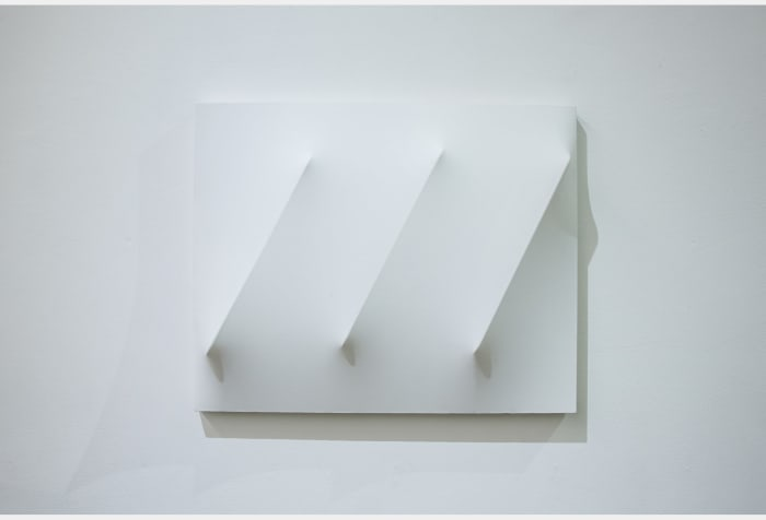 Work - Three Lines at a Slant by Norio Imai