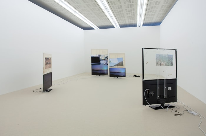 """""""Philipp, I have the feeling I'm incredibly good looking but have nothing to say"""", installation view, 21er Haus, Austria by Philipp Timischl"""