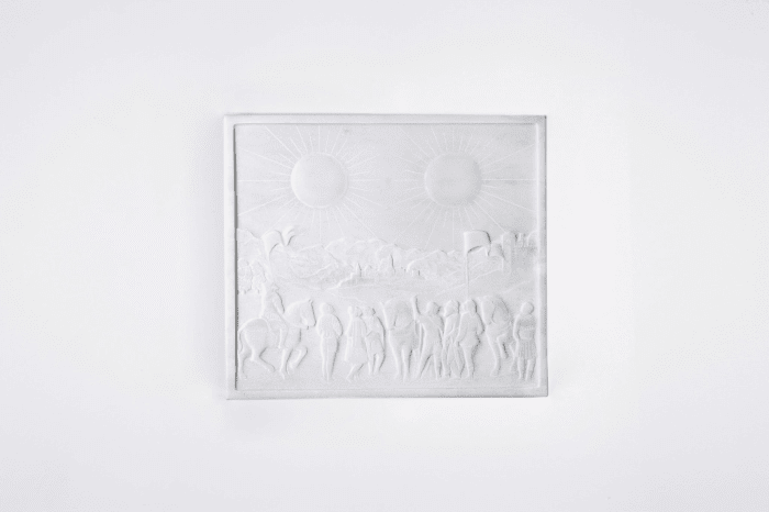 Soleil Double by Laurent Grasso