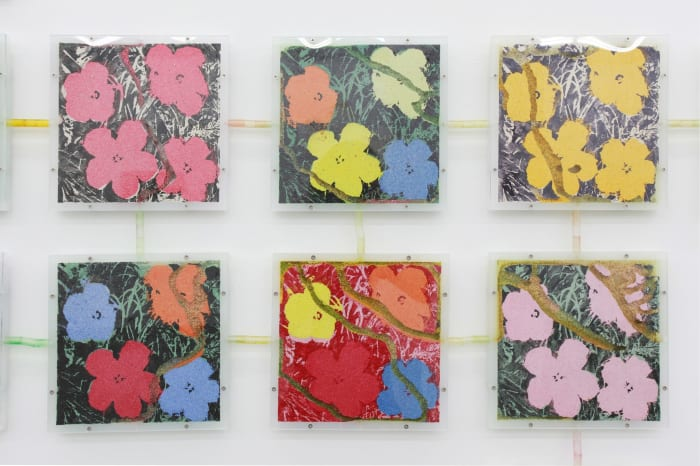 "Group of ""Flowers (#47, #49, #17,#6, #12, #35)"" by Yukinori Yanagi"