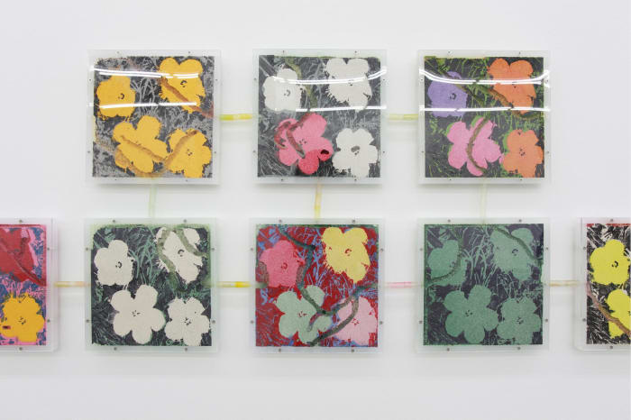 "Group of ""Flowers (#16, #13, #9,#27, #38, #24)"" by Yukinori Yanagi"